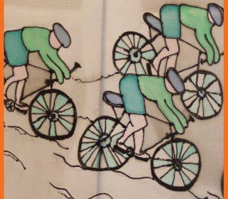 אהיל לילדים רוכבי אופניים