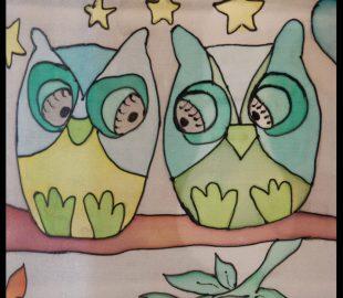 אהיל לילדים ינשופים | אהילים מעוצבים לחדרי הילדים | יהודית ולצמן