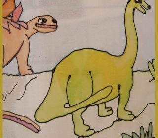 אהיל לילדים דינוזאורים