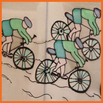 אהיל לילדים רוכבי אופניים | אהילים מעוצבים לחדרי הילדים | יהודית ולצמן