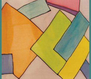 אהיל לילדים צורות גיאומטריות | אהילים מעוצבים לחדרי הילדים | יהודית ולצמן