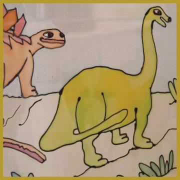 אהיל לילדים דינוזאורים | אהילים מעוצבים לחדרי הילדים | יהודית ולצמן